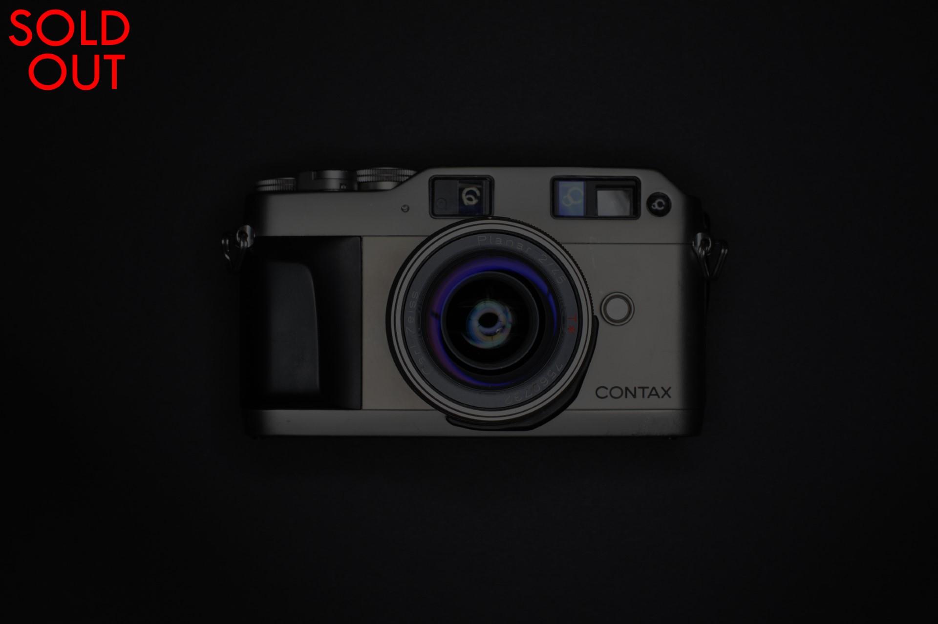 Contax G1 | Zeiss Planar T* 45mm f2 | [good-] | FotoStrobo Shop
